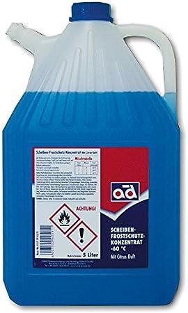 A D Ad Scheibenfrostschutzkonzentrat Bis 60 C 5 Liter Kanister Scheibenfrostschutz Auto