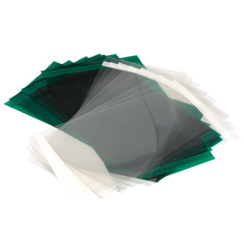 TREND AIRPRO AIR/P/3C Clear Replacement Visor Overlay, Pack of Ten