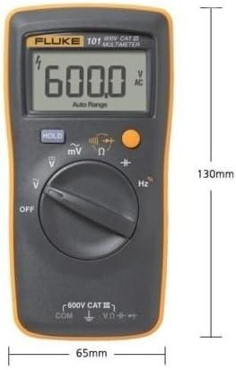 FLUKE 101 Basic Digital Multimeter Pocekt tragbare Meter Ausr/üstung Industrial Geschenk