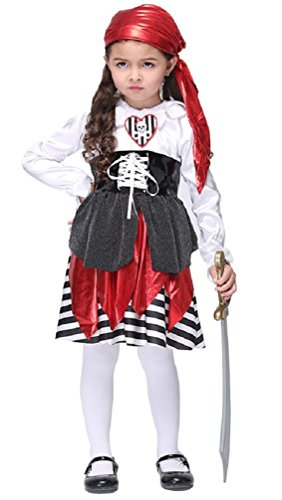 Girl' (Pirate Dressing Up Outfit)