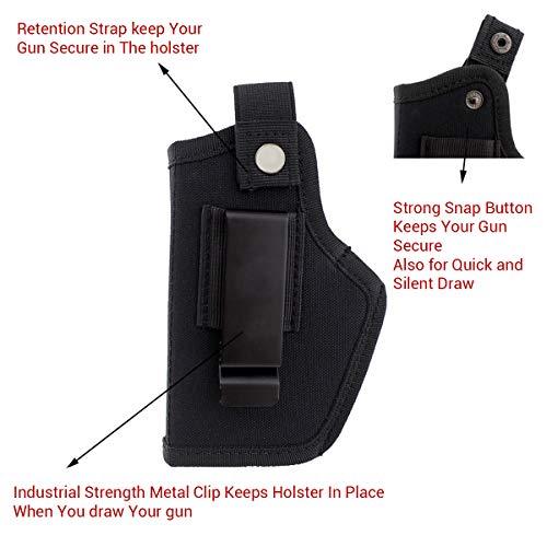 Modaka Etui pour Pistolet, Holster de Ceinture IWB/Taille intérieure Le Holster Tactique en Plein air - Etui de Police… 4
