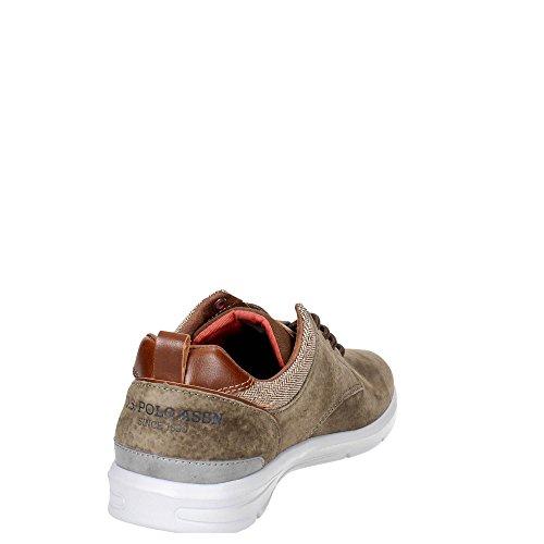 U.s. Polo Assn WALDO4004W7/S1 Petite Sneakers Homme Marron Taupe 42