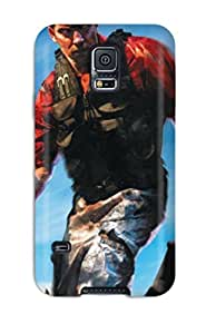 New Premium Flip Case Cover Far Cry Instincts Skin Case For Galaxy S5