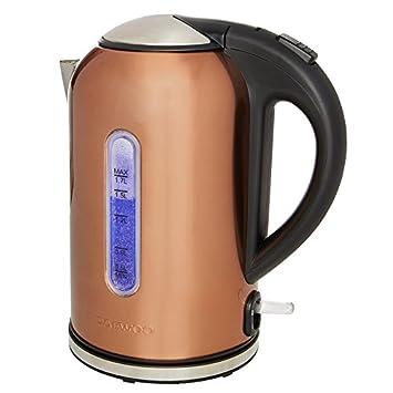 Daewoo Venus Copper Bullet Kettle: Amazon.co.uk: Kitchen & Home