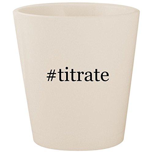 #titrate - White Hashtag Ceramic 1.5oz Shot - Titrator Auto