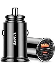 Carregador Veicular Turbo 30w Baseus Quickcharge 4.0 PD iPhone