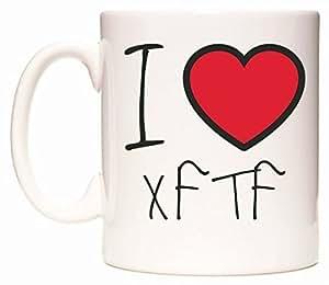 I Love XFTF Taza por WeDoMugs