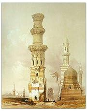 KazaFakra C2182 Ancient Egypt Canvas Modern Tableau- 50x40 cm