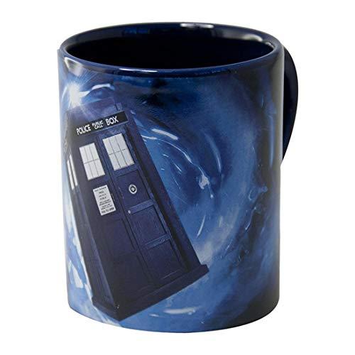 Doctor Who Coffee Mug with Hidden TARDIS, 12 Oz.