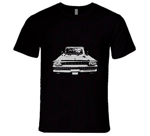 cargeekteescom-1959-mercury-monterey-grill-white-graphic-t-shirt-l-black