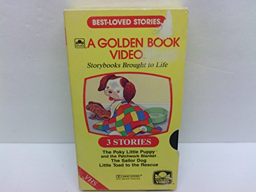 3 Best-loved Golden Book Stories ~ Poky Little Puppy and the Patchwork Blanket, The Sailor Dog, Little Toad to the Rescue (Best Puppies To Own)