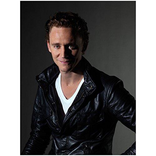 8x10 Munich Photo (War Horse Tom Hiddleston as Capt. Nicholls Looking Big Smile 8 x 10 Photo)