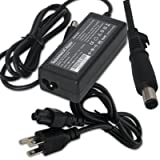 AC Adapter/Power Supply&Cord for Compaq Presario CQ20 CQ50-110US CQ50-130US CQ50-139WM CQ56-103 CQ56-154CA CQ60-206US CQ60-410US CQ61-310US CQ61-313NR CQ61-313US CQ61-319WM CQ61-420US CQ62-220US