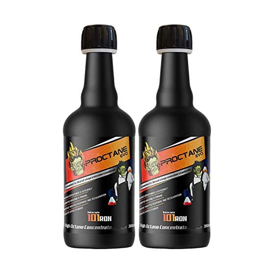 Proctane EVO High Octane Concentrate Booster Petrol (Pack of 2, 300 Ml)