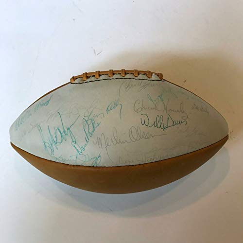 - Bart Starr 1966 Pro Bowl Team Signed Spalding Football 13 Hall Of Fame Sigs COA
