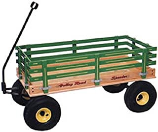 product image for Saving Shepherd Heavy Duty Pull Wagon with Easy Roll Air Tires (Green)