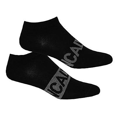 Calvin Klein 2-Pack Intense Power Men's Trainer Socks, Black/grey
