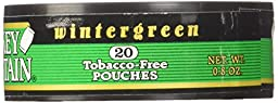 Smokey Mountain Wintergreen Pouches - .8oz Canister (5 Pack) Tobacco Free