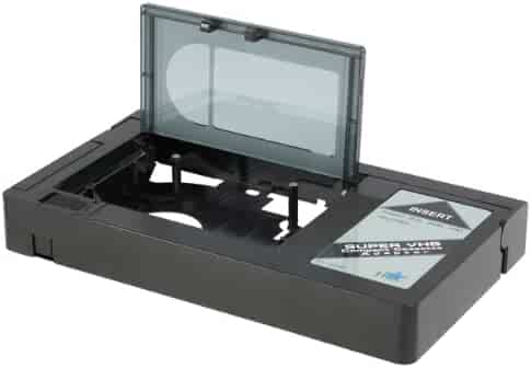 HQ VHS-C Video Cassette Adaptor - NOT COMPATIBLE WITH 8mm/MiniDV/Hi8 Tapes !