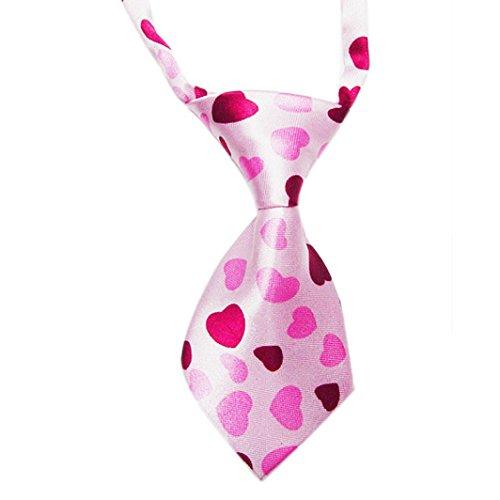 (Gotd Adjustable Dog Cat Pet Puppy Bow Tie Necktie Clothes Accessories (D))