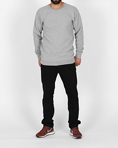 Cleptomanicx - Pull - Homme gris Gris chiné