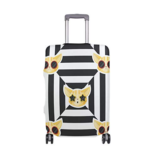 Cat Halloween Costume Traveler Lightweight Rotating Luggage Cover Can Carry With You Can Expand Travel Bag Trolley Rolling Luggage Cover -