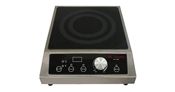 Amazon.com: El Sr. Inducción sr-343 C 3400-watt Countertop ...