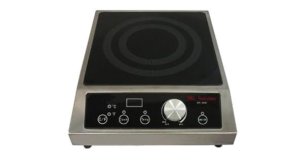 Amazon.com: El Sr. Inducción sr-343 C 3400-watt Countertop ...