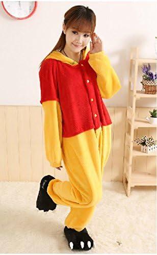 Forro polar de dibujos animados Winnie the Pooh pijamas ...
