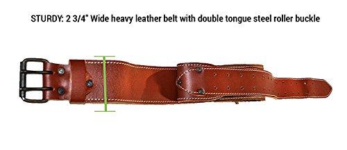 CLC Custom Leathercraft 21448 15 Pocket, 4 Piece Pro Framers Combo System Tool Belt by Custom Leathercraft (Image #2)