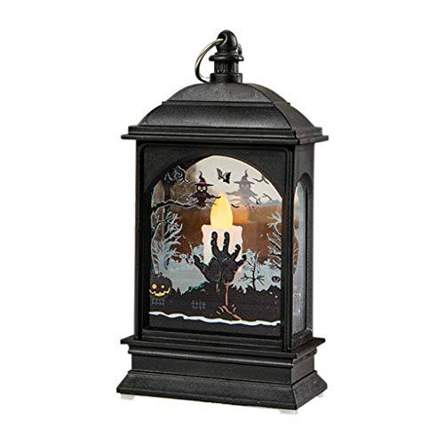 Halloween Pumpkin Light DOOIOR Lamp Door Room Decoration LED Lantern Party Home Props Halloween Night Lights Candles]()