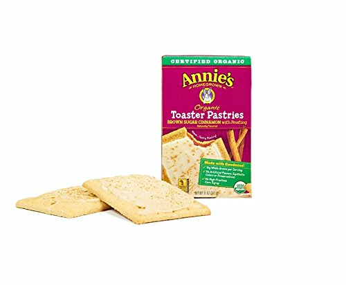 - Annie's Organic Naturally Flavored Toaster Pastries: Brown Sugar Cinnamon with Frosting - 18 ct.