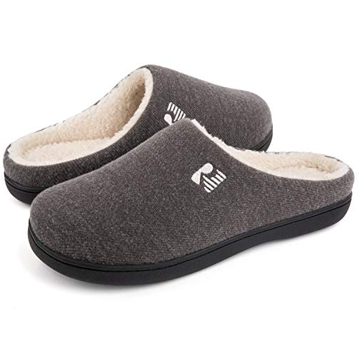 RockDove Men's Original Two-Tone Memory Foam Slipper