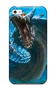 Hot Monster Hunter First Grade Tpu Phone Case For Iphone 5c Case Cover