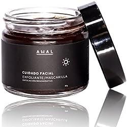 Ahal Exfoliante/Mascarilla Tepezcohuite y 5 Arcillas, 80 g