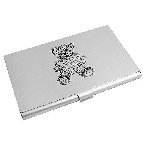 Azeeda CH00004752 Wallet Card 'Teddy Bear' Holder Credit Business Card qwCUqxrv8