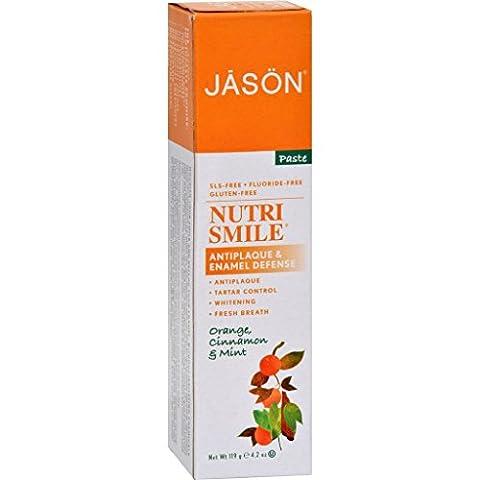 Jason Nutrismile Toothpaste Orange Cinnamon Mint - 4.2 oz (Dycal Cement)