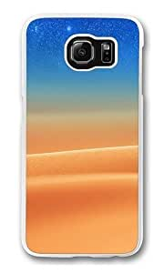 Desert Star night Polycarbonate Hard Case Cover for Samsung S6/Samsung Galaxy S6 Transparent