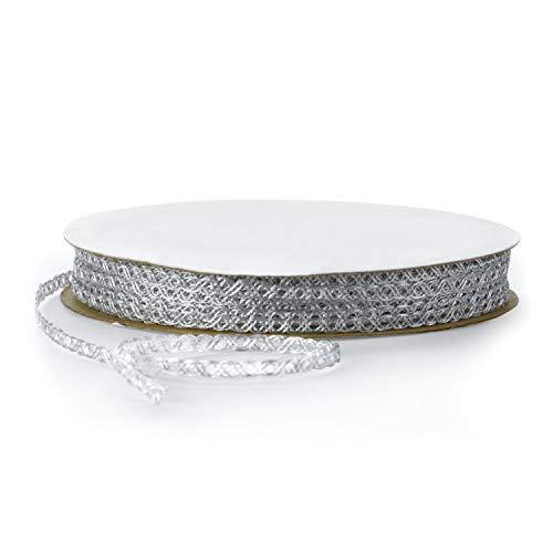 22pk Silver Braid Ribbon-Embellishments -