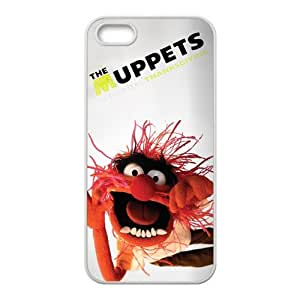The Muppets Background Case Cover for iPhone 5/5S- Personalized Hard Cell Phone Back Protective Case Shell-Perfect as gift