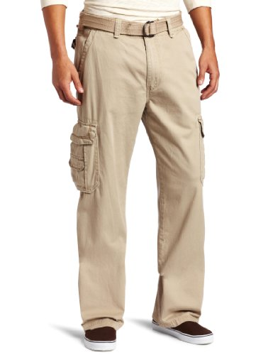 UNIONBAY Men's Big and Tall Survivor IV Relaxed Fit Cargo Pant, Desert, 44x34 (Big And Tall Relaxed Fit Shorts)