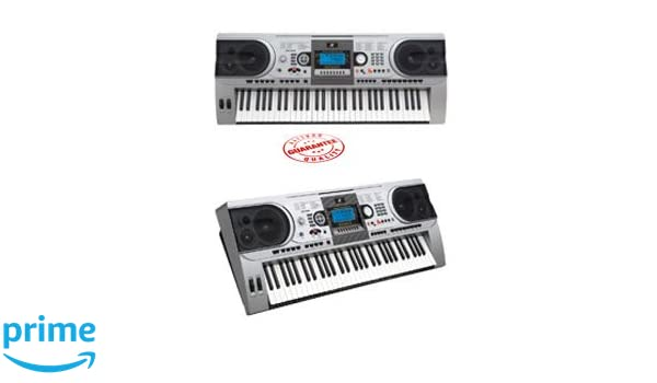 Amazon.com: MK-935 61 Keys Professional Performance Type Electronic Keyboard with Touch Function: Musical Instruments