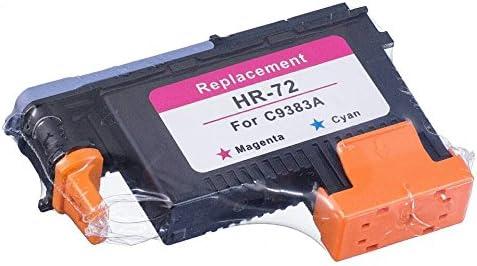 Lucky puente HP72 remanufacturados cabezal 3pk (G/PK MK/y M/C) C9380 A C9383 A C9384 A Compatible para HP T1100 T790 T770 T60 T1300: Amazon.es: Oficina y papelería