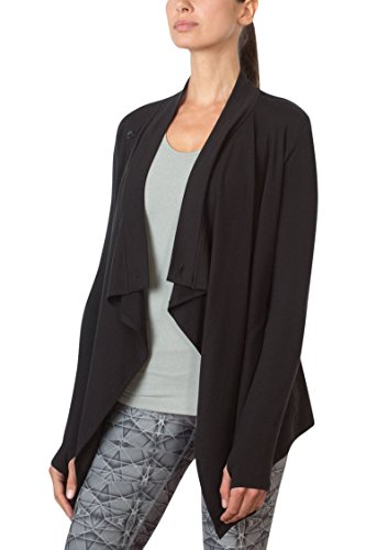 MPG Julianne Hough Women's Wisdom Oversized Cardigan S - Oversized Cardigan Wrap
