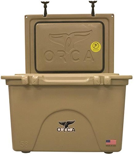 New Orca Orct058 Tan Colored 58 Quart Insulated Ice Chest Cooler Usa 3450012 by Orca