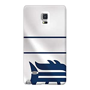 Shock-Absorbing Hard Phone Covers For Samsung Galaxy Note 4 (fCe779CkAp) Customized Nice Detroit Tigers Image