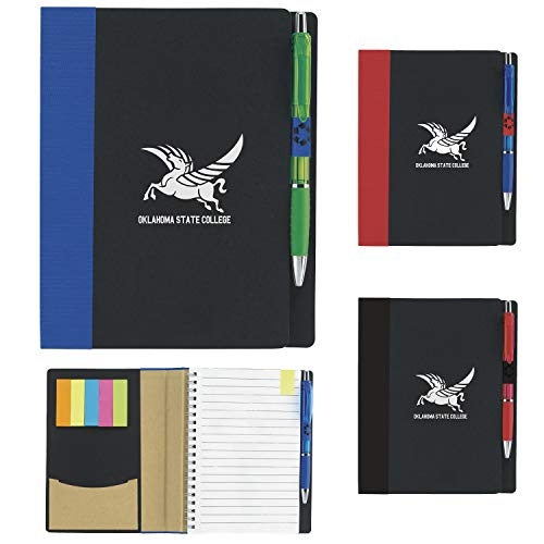 Good Value 5? x 7? ECO Notebook with Flags Black 100 Pack by Good Value (Image #1)