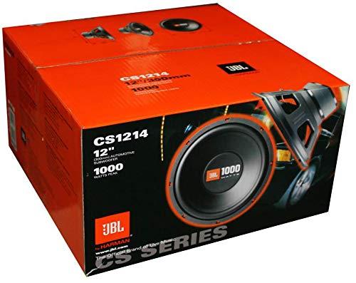 """2 JBL CS1214 12"""" 2000W Car Subwoofers Power Subs Audio Woofers 4 Ohm SVC Black"""