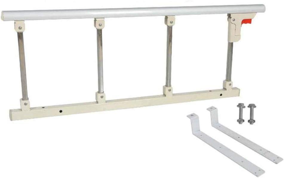Bed Rail Litera para niños Adultos Pasamanos de metal para King Queen Twin Bed Protector de cama de seguridad de grado hospitalario para personas mayores 95 × 40 cm (Tamaño: 4-6 cm)-Colchón de 19-21cm