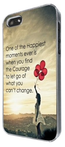 iphone 5 5S Cute Floating Balloons Sunset happiest moment Quote Funky Design Fashion Trend Hülle Case Back Cover Metall und Kunststoff